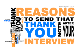 Order Resume Reasons To Order Thank You Note From Online Resume Site