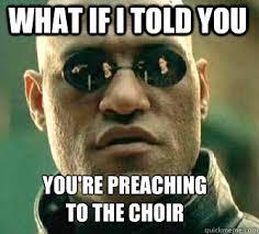 Preach Meme - summary digging a lot