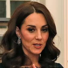 kate middleton diamond earrings kate repeats black dvf dress for freud gala evening kate
