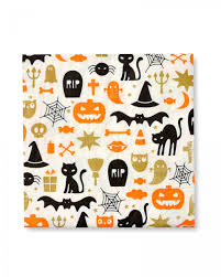 halloween party cocktail napkins