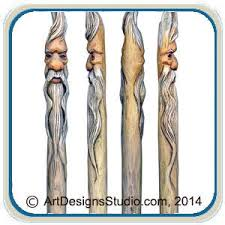 canes walking sticks u0026 wizard wands u2013 classic carving patterns