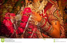 hindu garland hindu wedding ritual in india stock photo image 49079675