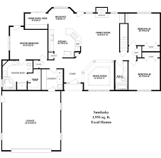 ranch home floor plan mesmerizing open concept ranch style house plans photos best