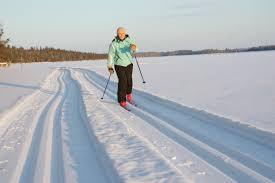 cross country skiing posio