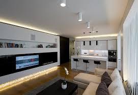 licht im wohnzimmer haus renovierung mit modernem innenarchitektur kühles indirekte