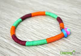 string friendship bracelet images How do you make a wrap bracelet with 3 colored strings jpg