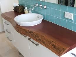 Timber Bathroom Vanity Blue Gum Timber Slab Vanity Top Coast Australia