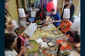 cours de cuisine roanne société la kinésithérapie devient ludique avec les cerisiers