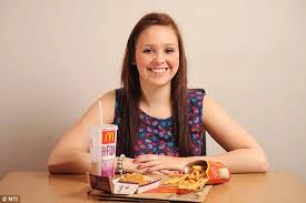 Blu U Before And After Stacey Irvine 17 Collapses After Eating Only Mcdonald U0027s Chicken