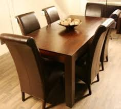 Dining Table And Six Chairs Dining Table And Six Chairs Yoadvice