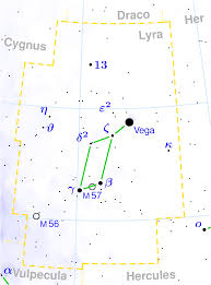 Map Of Constellations File Lyra Constellation Map Png Wikimedia Commons