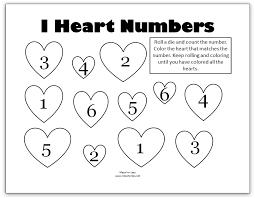 valentine u0027s math kindergarten worksheets mess for less