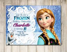 115 best frozen invitations images on pinterest birthday party