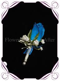 Royal Blue Boutonniere Carla Orchid Grooms Boutonniere Flowers For Ever After