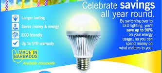 Led Light Bulbs Savings by St Lucia U2013 Caribbean Led Lighting Inc