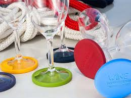 wine glass party favor non slip base wine glass party marine business