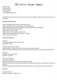 Sample Resume For Machine Operator by Download Cdl Resume Haadyaooverbayresort Com