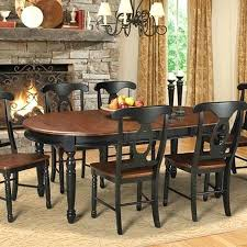 White Wooden Dining Room Chairs by Dining Table Black Wood Dining Room Table And Chairs 7 Piece