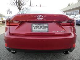 lexus platinum extended warranty 2015 lexus is 250 awd 4dr sedan in warrenton va platinum motorcars