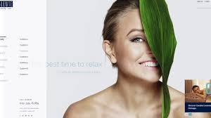 Makeup Hair Salon Bleute Best Spa Wordpress Theme Beauty Spa Hair Salon