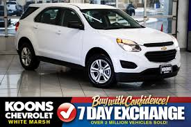 used chevrolet equinox for sale westminster md cargurus