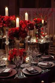 Black And Silver Centerpieces by Gallery Winter Wedding Receptions Silver Centerpiece And Summer