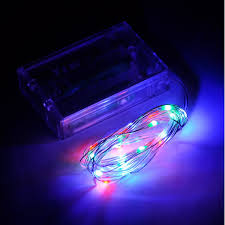 powered fairy lights colour changing 40 leds ultra fine wire