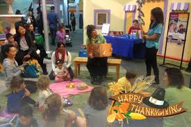 thanksgiving celebration pretend city children s museum