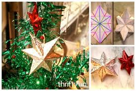 3d paper ornaments thriftyfun