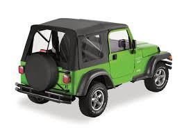 1997 Wrangler Sport 1997 2006 Jeep Wrangler Supertop Soft Top U003cb U003eblack Denim With