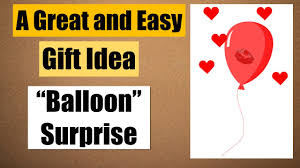 birthday balloons for him balloon gift idea for boyfriend