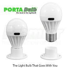 promier porta bulb battery powered light bulb portable light bulb