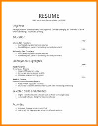 employment resume template 9 resume templates actor resumed
