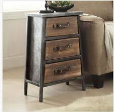 rustic primitive nightstands ebay