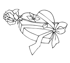 coloring pages of heart rose coloring pages and book uniquecoloringpages happy rose