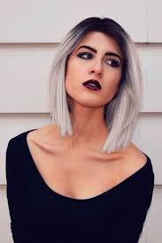looking with grey hair cool ways how to wear your short grey hair see more http