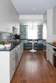 cuisine en longueur cuisine en longueur collection et amenager une cuisine en
