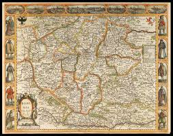 bohemia map speed s map of bohemia maps daniel crouch books