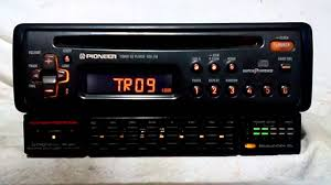 vintage pioneer deh 215 am fm cd player car stereo w bp 880 eq