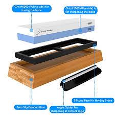 best whetstone for kitchen knives premium knife sharpening 2 side grit 1000 6000 whetstone