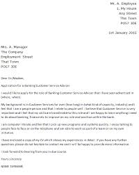 cover letter for bank customer service representative 28 images