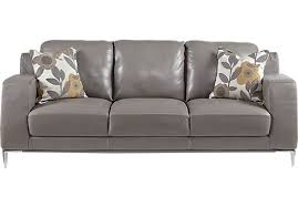 Gray Leather Sofa Sofa Inspiring Gray Leather Sofas Sofa Lovve Cool Skin Gray