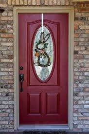 what color to paint front door with red brick google search