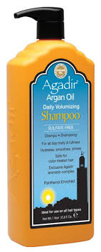 volumizing shoo for color treated hair shoo products by agadir international