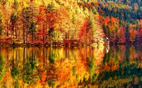 fantasy autumn wallpaper beautiful autumn landscape lake and forest