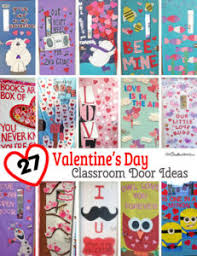 Valentine Door Decorations Ideas by Classroom Door Decorations Archives Onecreativemommy Com