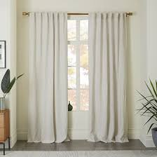 Striped Linen Curtains Striped Curtains West Elm