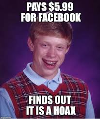 I Feel Violated Meme - facebook hoax facebook 5 99 broke ass stuart