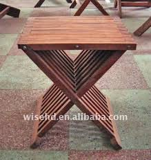 w c 0722 wooden portable folding stool buy portable folding