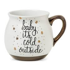 baby mugs baby it s cold outside 16oz stoneware mug threshold wintery